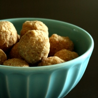 2 Ingredient Delight...Peanut Laddoo