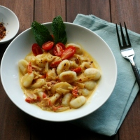 Gnocchi...with an Indian Twist