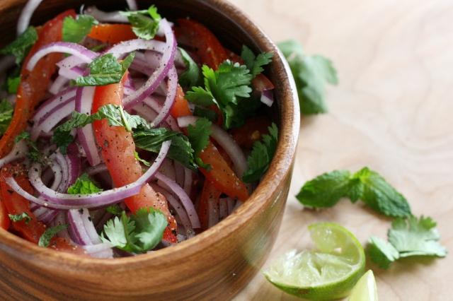 Onion-Tomato Salad1